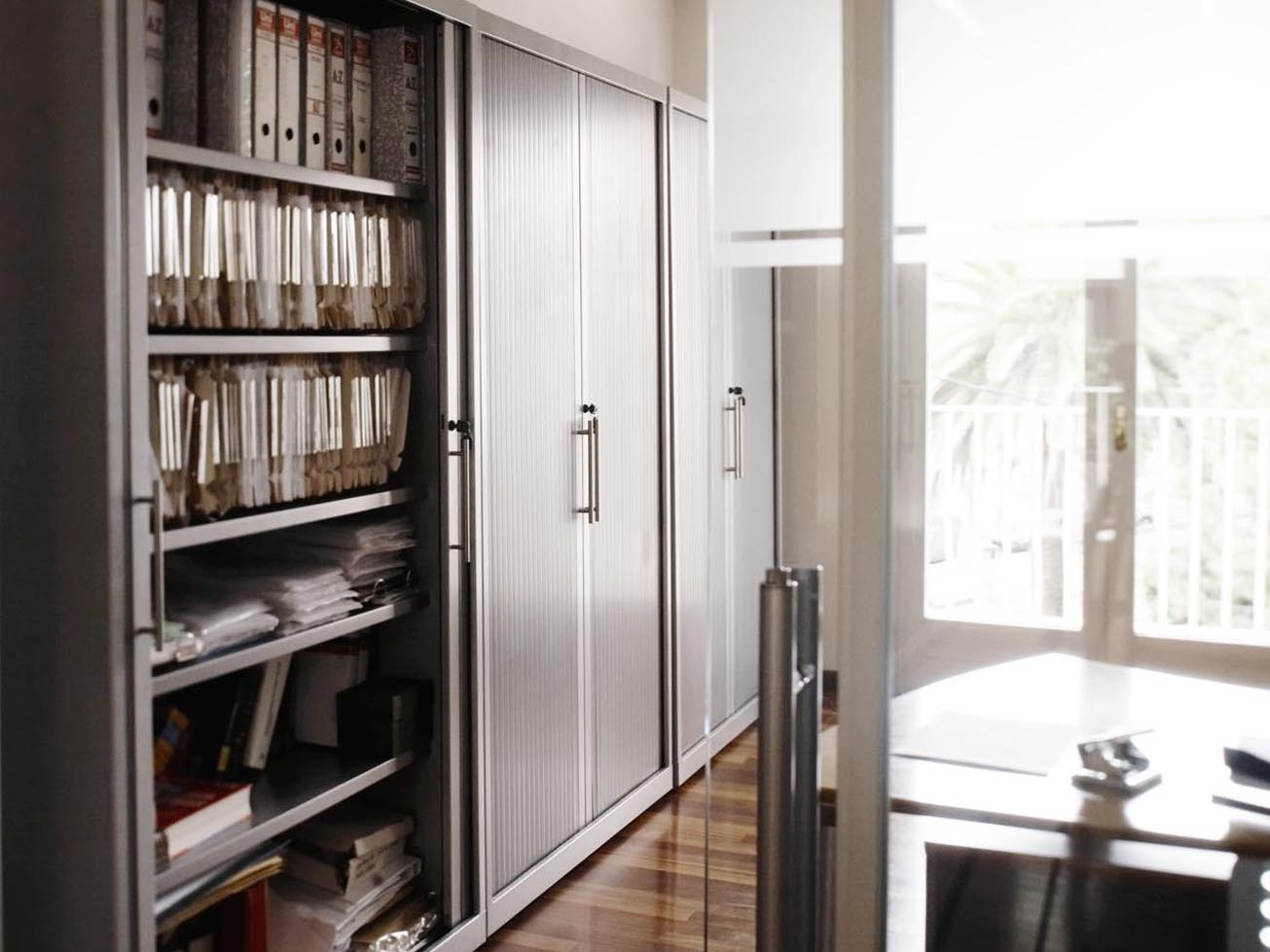 Armario persiana vertical coprohi - Armario oficina ...