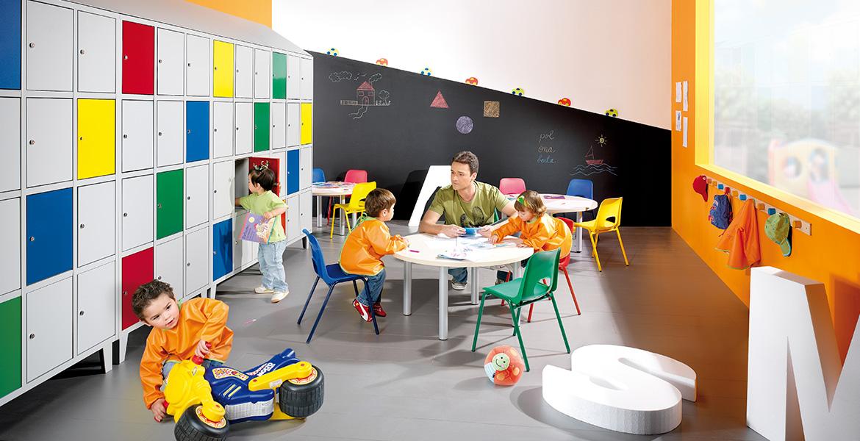 Amplia gama de mobiliario escolar infantil ideal para tu for Mobiliario de oficina definicion